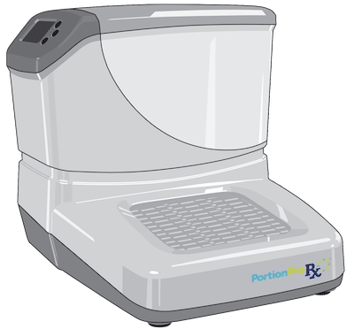 automated pet feeder design for scheduled portioned meals in a durable frame