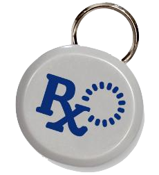 portionpro rx small medium sized dog cat RFID tag for pet collar